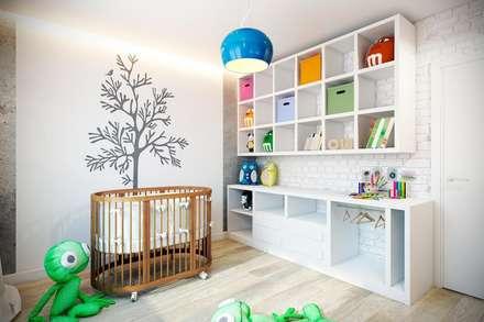 Каменный лофт: Детские комнаты в . Автор – CO:interior