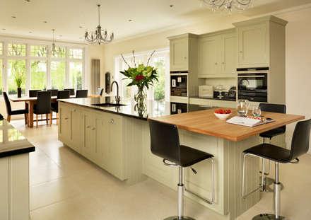 Painted Shaker kitchen by Harvey Jones: classic Kitchen by Harvey Jones Kitchens