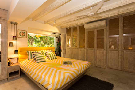 Eclectic Apartment: asian Bedroom by The Orange Lane