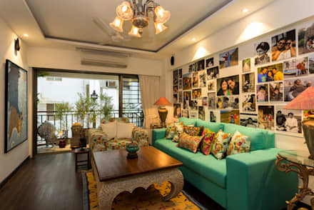 Eclectic Apartment: asian Study/office by The Orange Lane