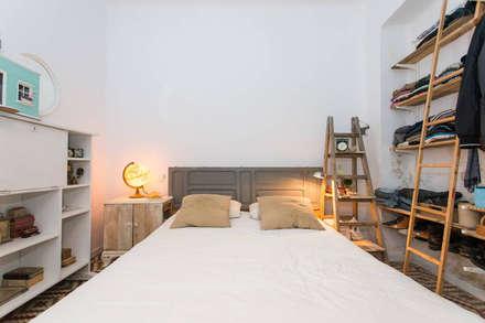 scandinavian Bedroom by J