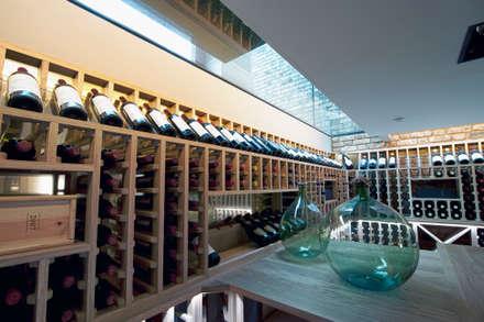 classic Wine cellar by WeinWerk Klimascout