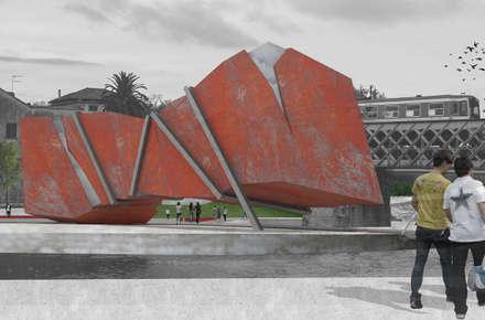 OIPMET punto informazione: Musei in stile  di Poligonilab