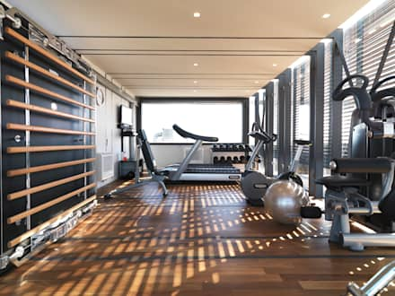 modern Gym by SA Architecture