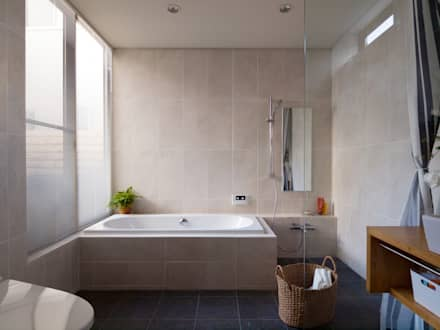 eclectic Bathroom by Far East Design Labo