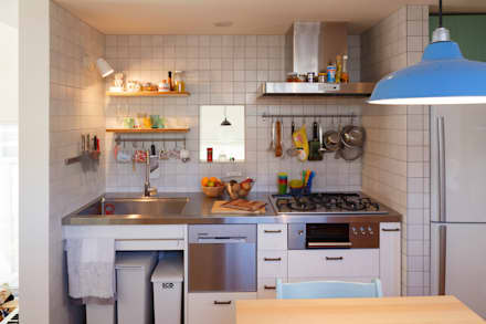 eclectic Kitchen by Far East Design Labo