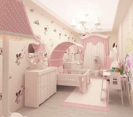 modern Nursery/kid's room by Meral Akçay Konsept ve Mimarlık