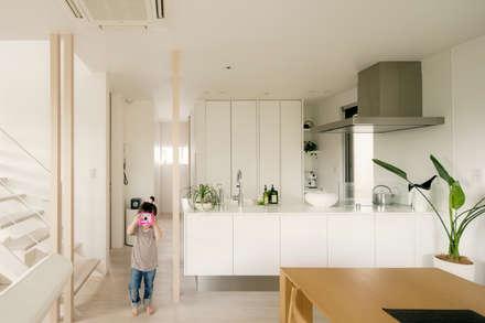 キッチン: H建築スタジオが手掛けたキッチンです。
