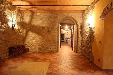 rustic Wine cellar by Studio di Progettazione Arch. Tiziana Franchina