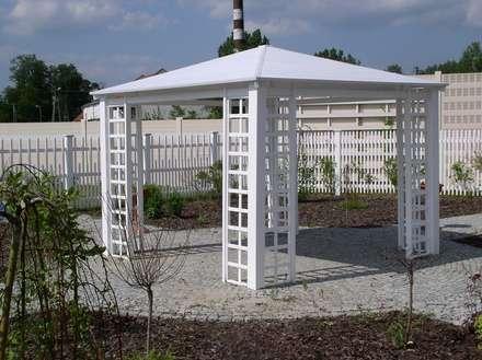 Altana ogrodowa PCV: styl , w kategorii Ogród zaprojektowany przez Ogrodzenia Radosław Sycz