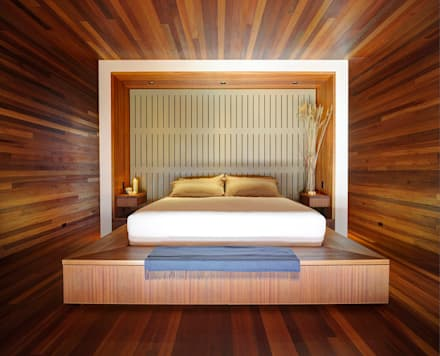 Sam's Creek: modern Bedroom by Bates Masi Architects