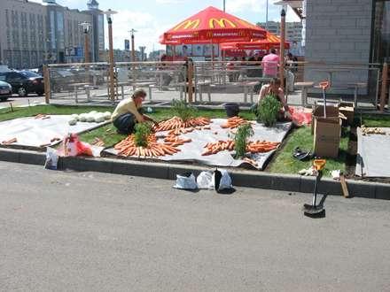 нашествие овощей:): Сады в . Автор – TOPOS