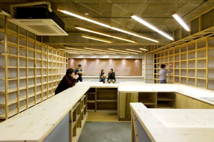 '가장 기본적인 디테일은 예술의 기초와 부합한다.': Design m4의  회의실