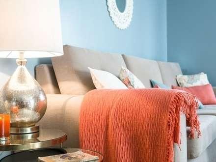 Apartamento em Sintra: Salas de estar modernas por MUDA Home Design