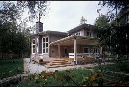 Дом из клёного бруса: Дома в . Автор – Ожогин Сергей
