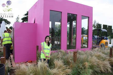 2012 햄튼코트팔라스플라워쇼: Garden Studio Allium의  전시장