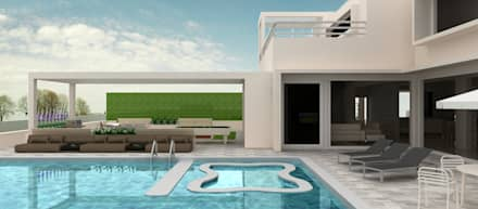 Pool View: minimalistic Pool by Neotecture