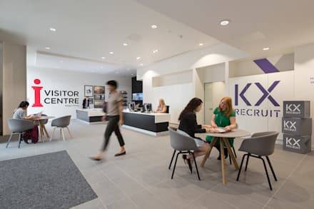 King's Cross Skills & Recruitment Centre:  Exhibition centres by Sonnemann Toon Architects