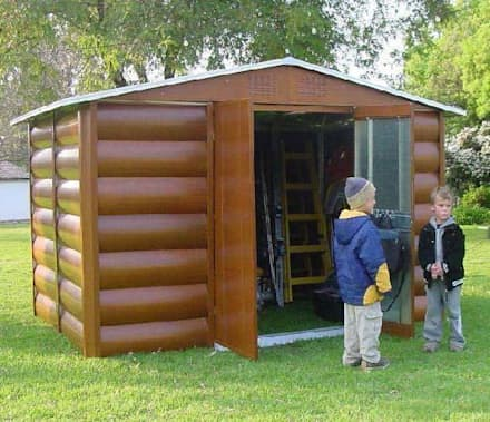 Garden shed design ideas inspiration pictures homify for Antas jardin