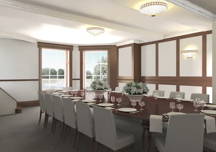 Meeting Room:  Event venues by Bright Green Design