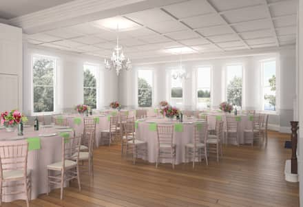 Ballroom:  Event venues by Bright Green Design