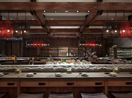 Qimin:  Gastronomie von Hot Dog Decor Inneneinrichtung & Beratung