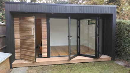 Garden Studio with storage: modern Garden by Office In My Garden