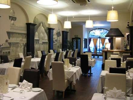 Karma Restaurant:  Bars & clubs by Martin Hall Design