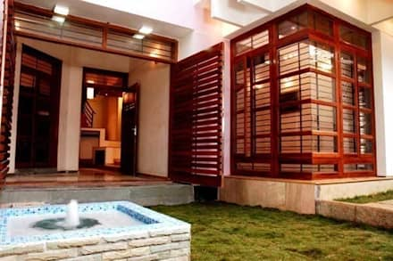 ANWAR SALEEM RESIDENCE: modern Garden by Muraliarchitects