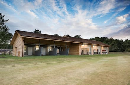 Nike Performance Fitting Centre Exterior:  Event venues by Aitken Turnbull Architects