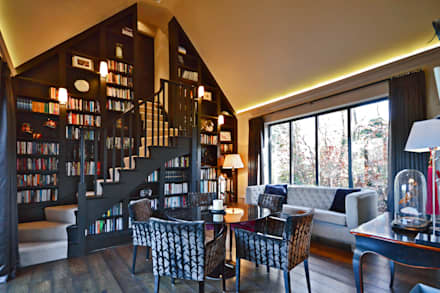 The Harry Potter staircase : modern Study/office by Zodiac Design