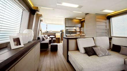 MCY _ 70: Yacht & Jet in stile in stile Minimalista di  roberta mari