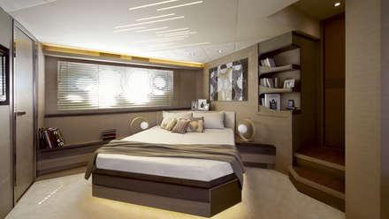 MCY_ 70: Yacht & Jet in stile in stile Minimalista di  roberta mari
