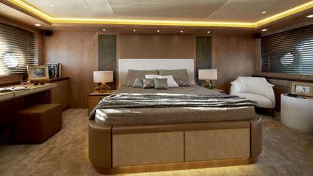 MCY _ 86: Yacht & Jet in stile in stile Minimalista di  roberta mari