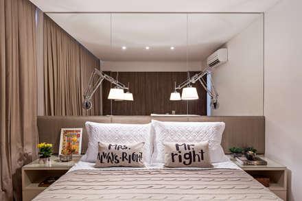 Apartamento MA: Quartos  por BEP Arquitetos Associados