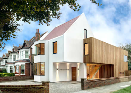 Residential: modern Houses by MZO TARR Architects