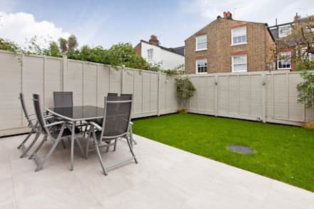Narbonne Avenue Clapham: minimalistic Garden by Bolans Architects