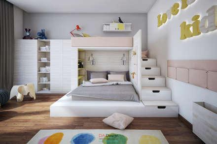 Suburban residential: Детские комнаты в . Автор – DA-Design
