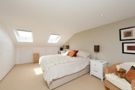 ​dormer loft conversion wandsworth: modern Bedroom by nuspace