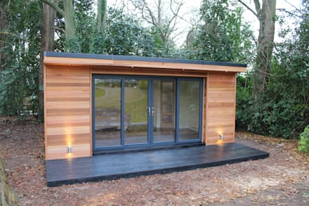 garden office design ideas. \u0027The Crusoe Classic\u0027 - 6m X 4m Garden Room / Home Office Studio Design Ideas