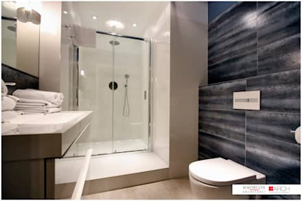 DVUPAK - loft VIVID: styl , w kategorii Łazienka zaprojektowany przez Borowczyk Architekci