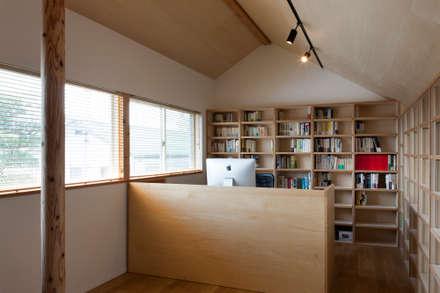 本の部屋: FURUKAWA DESIGN OFFICEが手掛けた書斎です。