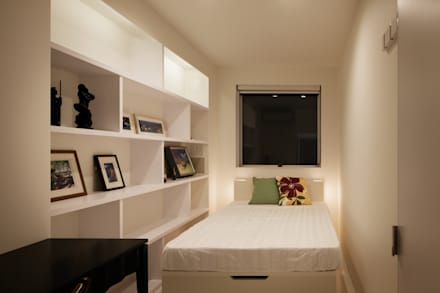 l a n i: *s t u d i o L O O Pが手掛けた寝室です。
