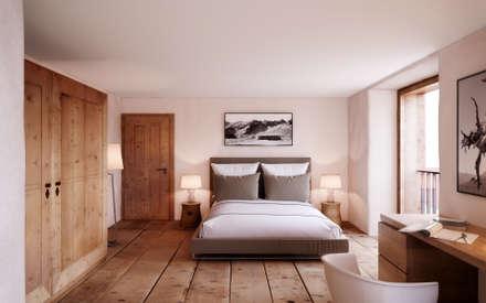 Phòng ngủ by von Mann Architektur GmbH