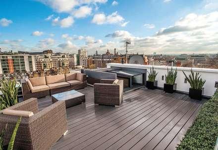 Terrazas de estilo  por MAA Architects