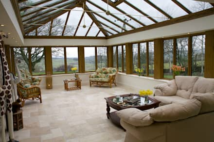 Orangeries: classic Conservatory by Franklin Windows