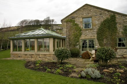 Orangeries: country Conservatory by Franklin Windows