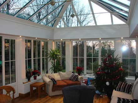 Orangeries: colonial Conservatory by Franklin Windows