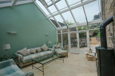 Conservatory 5: minimalistic Conservatory by Stange Kraft Ltd