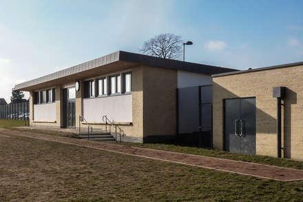Sports Pavilion for School:  Schools by Cayford Architecture Ltd
